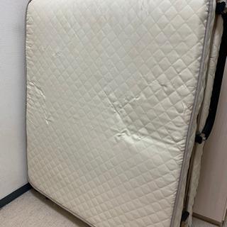 【引き取り限定】折り畳み シングルベッド