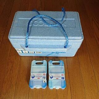 COOL BOXと保冷剤