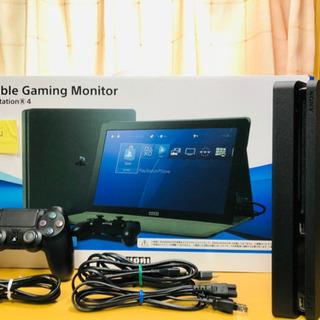 プレステ4 PS4 CUH-2000 500G&ポータブル ゲー...
