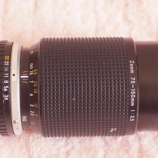 ニコン 75-150mm F3.5