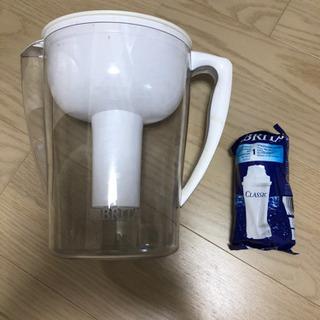 ブライタ 浄水器+新品カートリッジ1個