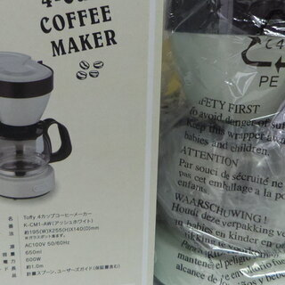 新品 LADONNA 4CUP COFFEE MAKER KCM...