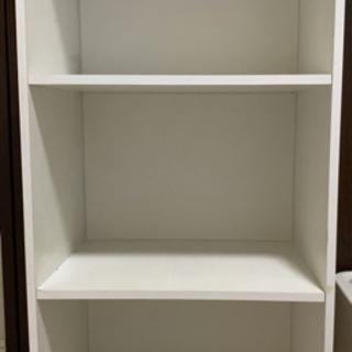 三段ボックス(白)