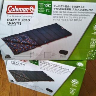 Coleman新品未使用cozyⅡ  NAVY②個セット