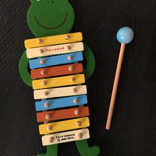 おもちゃ7 かえるの木琴