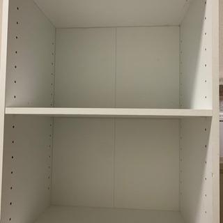 二段ボックス(白)2つ