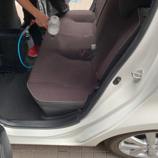 車内消臭の決定版です!(コーティング施工)