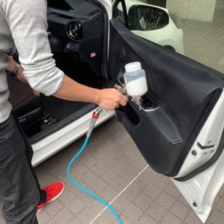 車内消臭の決定版です!(コーティング施工) - ハウスクリーニング