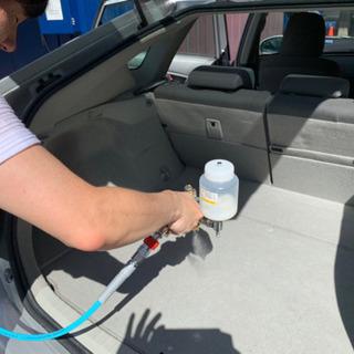車内消臭の決定版です!(コーティング施工) − 愛知県