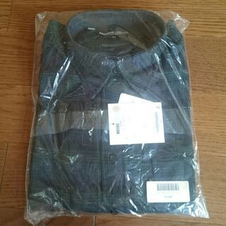 MICHIKO LONDON ネルシャツ 黒/緑 M 新品未開封品