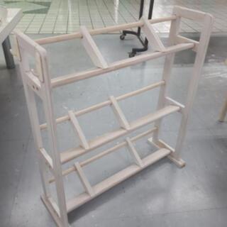 【リブラ店】値下げ!シャビーな木製ラック