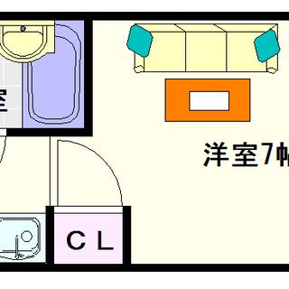 【ラ・トーレなんば】3号タイプ!1Rタイプ!都会に住んでいる感覚...