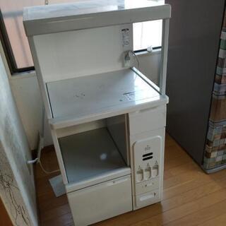 米びつ電子レンジ炊飯器の棚