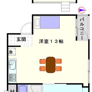 【アーバンコート日本橋】1号タイプ!1Rタイプ!太るとロフトの階...