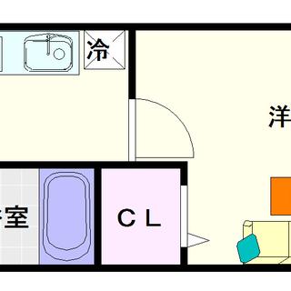 【イカルス日本橋】6号タイプ!1Kタイプ!敷金礼金無しのチャンス!