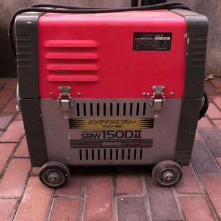バッテリー溶接機 shindaiwa SBW150DⅡ メンテナ...