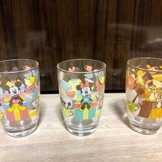 ディズニーガラスコップ6個セット 新品