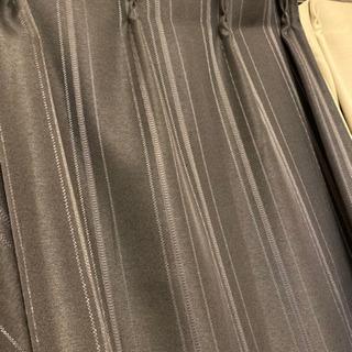 ニトリ カーテン4点セット ブラック