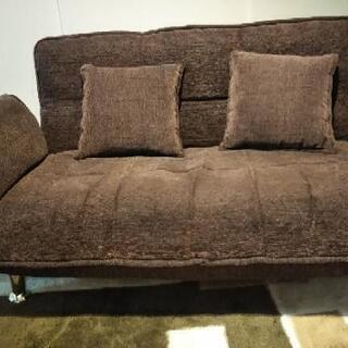 【お譲りします】二人掛けソファーベッド