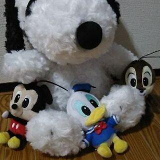 新品!ディズニー ぬいぐるみ 人形 セット マスコット