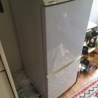 無料 シャープ 冷蔵庫 2007 135L