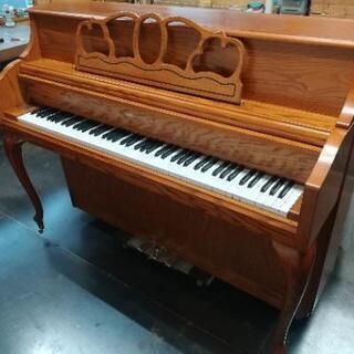 値下げしました諸費用込み♪家具調の木目ピアノ国内メーカー