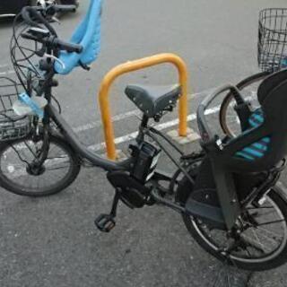 電動アシスト自転車 bikke2 子供乗せシート前後付