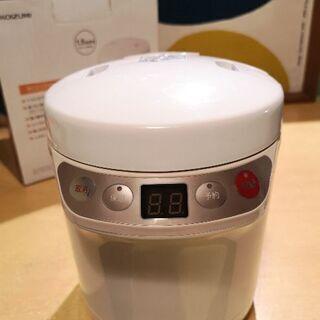 炊飯器コイズミライスクッカーミニ KSC-1511/Wホワイト...