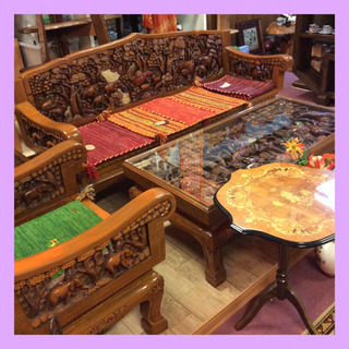 🐘ぞうのアジアン家具を紹介します🐘✨リサイクル家具専門店 …