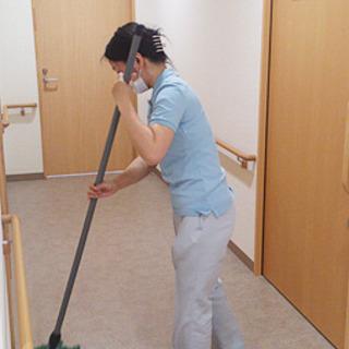 【清掃でこの時給!?】介護施設清掃業務🧹送迎有🚗