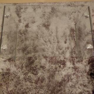 ガラスローテーブルを1000円で売ります