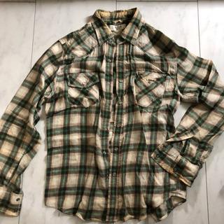 チェックシャツLサイズ2枚