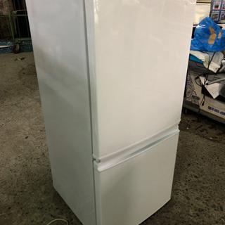 2014年製シャープノンフロン冷凍冷蔵庫SJ-D14A-W