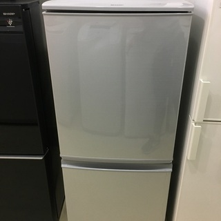 冷蔵庫 SHARP シャープ SJ-D14C-S 2017…