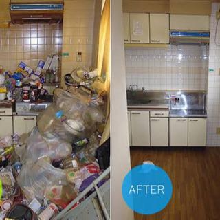 ゴミ屋敷も、個別回収も致します。