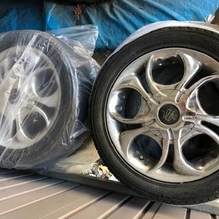 スズキ ワゴンR オプションホイール タイヤ付き