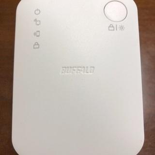 BUFFALO 無線LAN中継器 WEX-733DHP