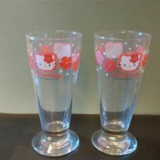 キティちゃんのグラス