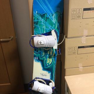 スノーボード。板とブーツセット。