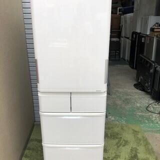 庫内超美品 シャープ ノンフロン冷凍冷蔵庫412 2016年製