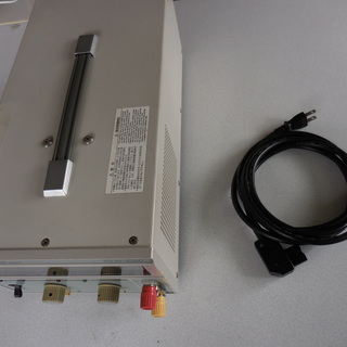 定電圧電源 無線機測定等に最適