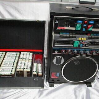 SANYO ホームカラオケ PAT-K3DX カセットテープ付き...
