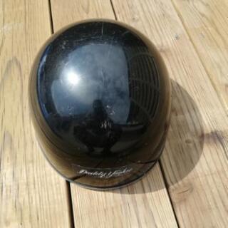バイク用のヘルメット 黒