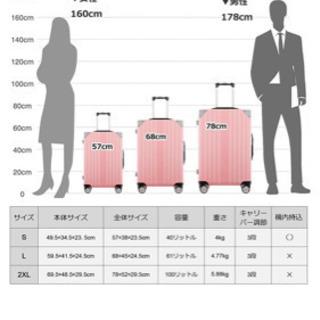 スーツケース 100L(新品未使用)