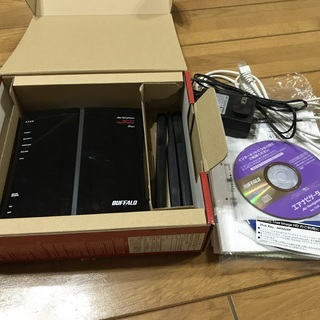 BUFFALO 無線LAN ルーター WZRーHPーG450H - 京都市