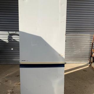 シャープ ノンフロン 冷凍冷蔵庫 SJ-17VP-KB 動作確認...