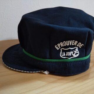 ★HusHush★紺色の帽子★52~54㎝★