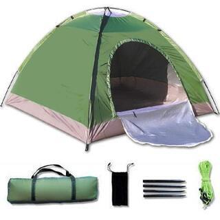 アウトドア キャンプ 登山 テント 2-3人用 超軽量 防雨 防...