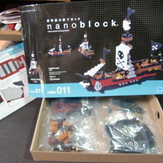大人に大人気 ナノブロック 海賊船