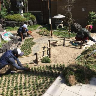 植木屋バイト、女性の方も大歓迎、協力業者募集